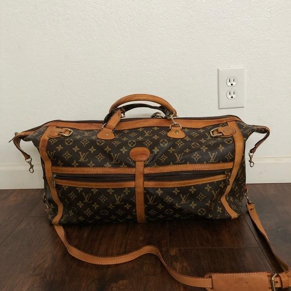 d802035bdb02 Louis Vuitton Handbags - Vintage Louis Vuitton Monogram Canvas Duffel Bag